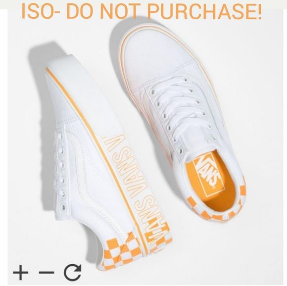 Iso Vans Old Skool Platform Sneaker